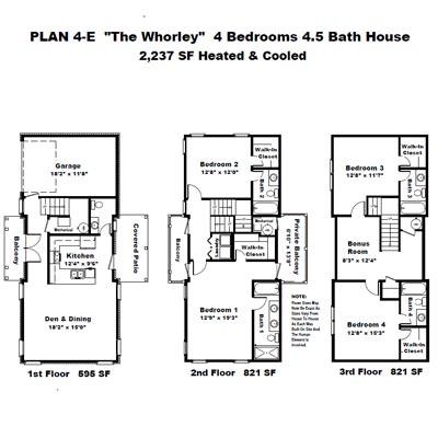 The Garden Homes Of Highland Plantation Plan 4e